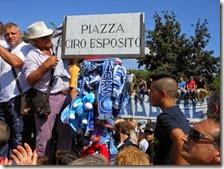 Piazza Giovanni Paolo II diventa piazza Ciro Esposito