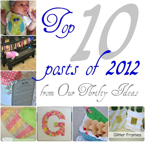 Our Thrifty Ideas: Top 10 posts of 2012