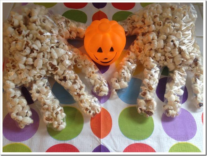 Ricette di halloween per bambini pop corn