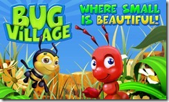 Monte sua vila de insetos em seu android com o jogo Bug village