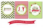Tatertots and Jello - Christmas Prints