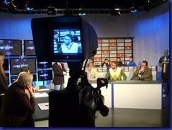 Gabriele Majo negli studi di Bar Sport 30 01 2012