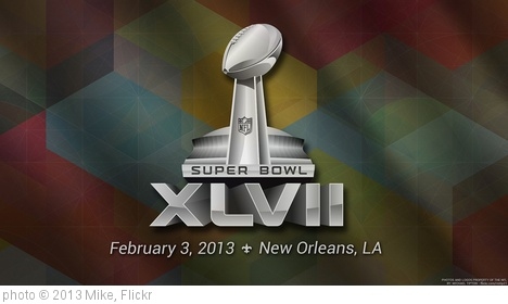 '2013 Super Bowl XLVII Logo' photo (c) 2013, Mike - license: http://creativecommons.org/licenses/by-sa/2.0/