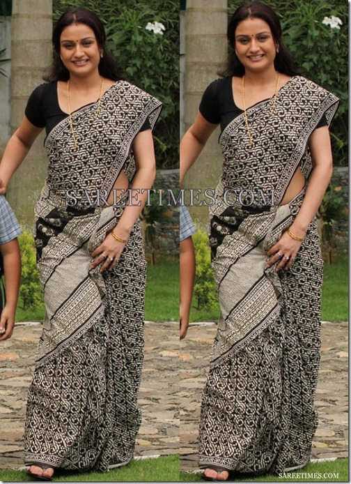 Sonia_Agarwal_Cotton_Saree