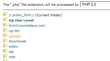 .php file extension