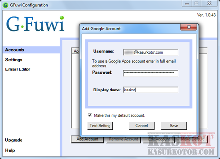 Software Gmail Untuk Windows - GFuwi