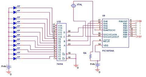 Color Sensor circuit diagram