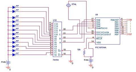Color Sensor circuit diagram