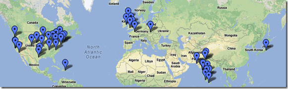 Salesforce mobile developer week events across the globe
