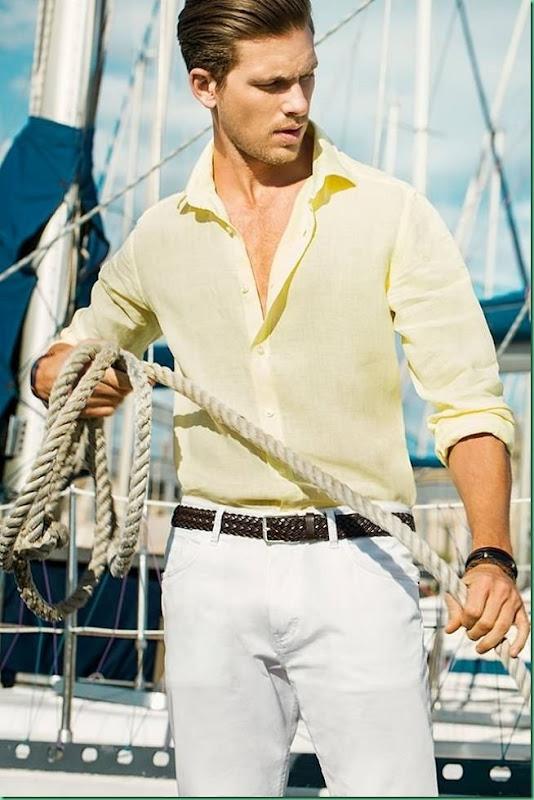 Adam Senn for Massimo Dutti Lookbook June 13