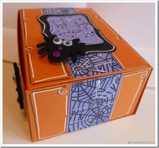 Sizzix Box Die 3 Halloween Trick or Treat Box