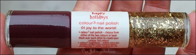 Essence Happy Holidays Nagellack Duo 01 Joy to the World