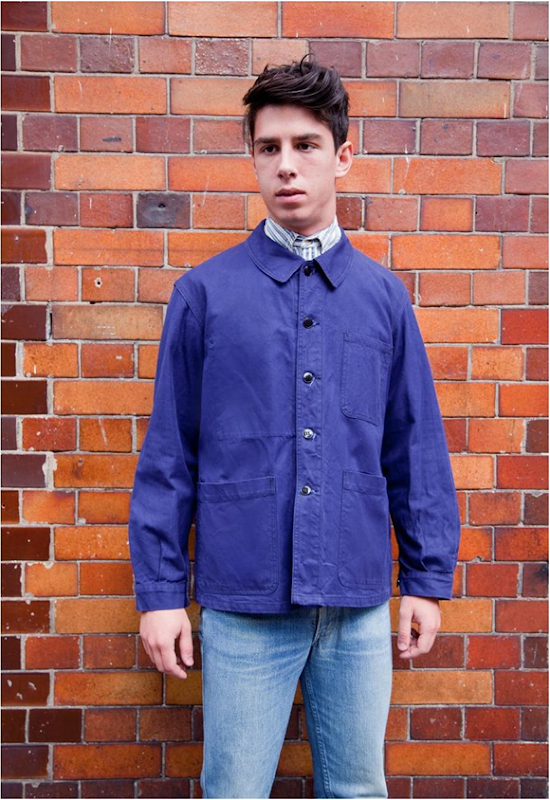 There's something very bien about a garcon in a vintage French work wear jacket – it's the easiest way to let everyone know that you TOTALLY work in a 'creative industry'. Trust us, girls will be begging you to paint them, Kate and Leo sinking ship style. We've got 3 styles on the site right now – take your pick from the below: