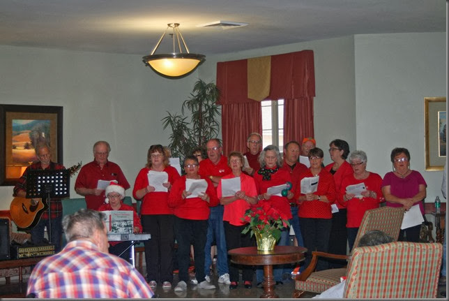 LA-Betty's-Christmas caroling at Nursing homes 6