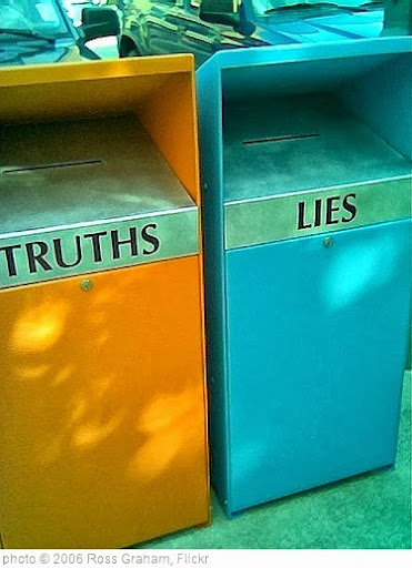 'Truth & Lies' photo (c) 2006, Ross Graham - license: http://creativecommons.org/licenses/by/2.0/
