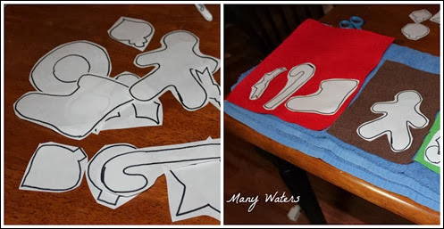 Many Waters Ornament Templates