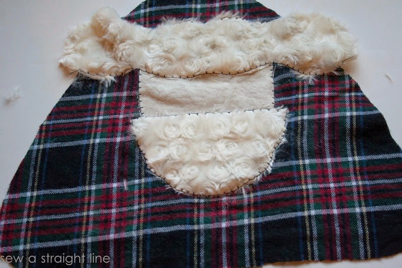 santa face pillows sew a straight line-4