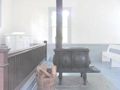 Cape Cod Yarmouthportinside old Kelly church2