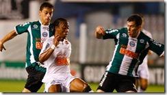 BRASILEIRÃO/SANTOS X CORITIBA