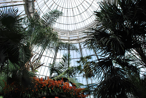 The dome of the conservatory.