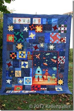 Quilt035-aus der Sternenmitte