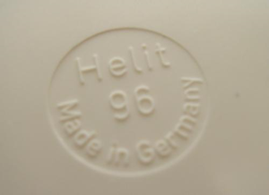Helit Sinus ashtray imprint