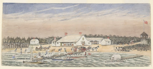 Liardet's Beach and Hotel in their heyday W. F. E. Liardet (Wilbraham Frederick Evelyn), 1875