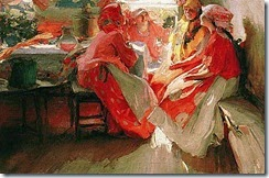 At_a_Party_by_Abram_Arkhipov_1915
