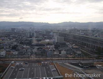 View of Rinku town from kansai Airport Washington Hotel