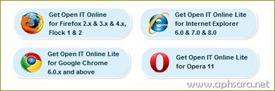 การใช้งาน  open It online