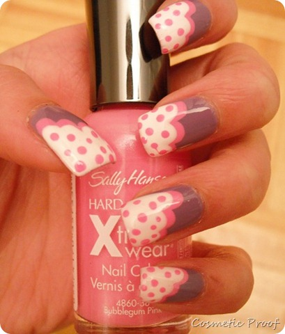 notd  polka dot clouds  cosmetic proof  vancouver