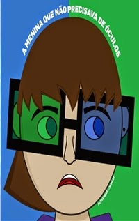 A menina que não precisava de óculos, por Alexandre Compart