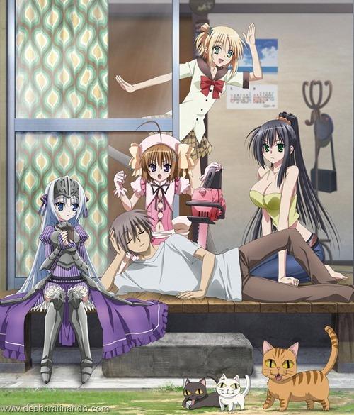 kore wa zombie desu ka  anime wallpapers papeis de parede download desbaratinando (9)