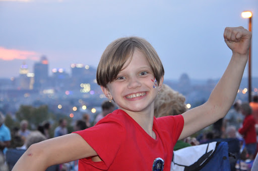 Natalie is getting pumped for the 2010 WEBN fireworks