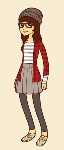 Emily Hipster