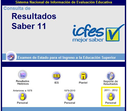 Resultados Icfes 2012