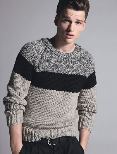 Simon Nessman @ Soul  by Milan Vukmirovic for Details, March 2012.