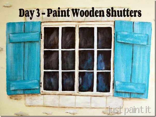 How To Paint Wooden Shutters