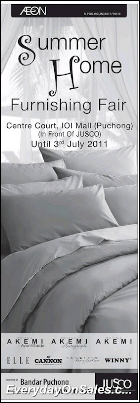 Aeon-jusco-Summer-home-furnishing-fair-2011-EverydayOnSales-Warehouse-Sale-Promotion-Deal-Discount