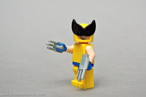 Wolverine super herois de lego desbaratinando
