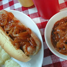 Hot Dog Onion Sauce