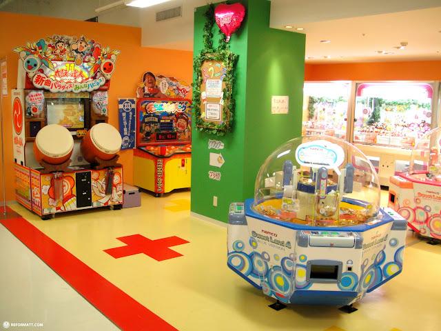 fun arcade at shizuoka 109 in downtown shizuoka in Shizuoka, Sizuoka (Shizuoka) , Japan