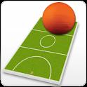 Netball coach's clipboard