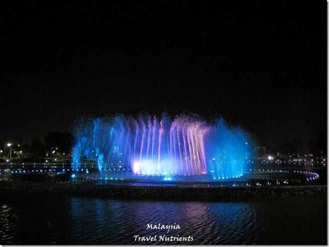 沙巴亞庇丹容亞路海灘夕陽 Perdana Park音樂水舞 (28)