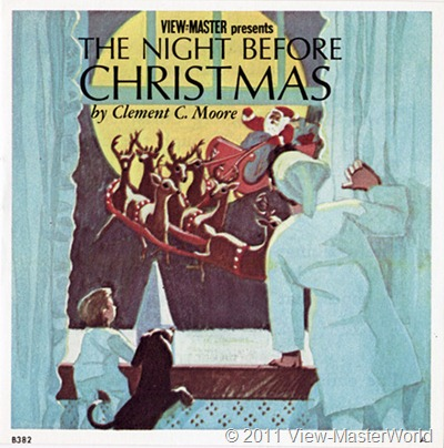 View-Master The Night Before Christmas (B382), Booklet Cover