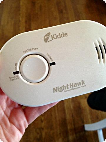 carbon monoxide detectors