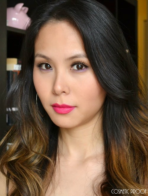 NYC Beauty Pro Demi Lovato Makeup Look Review (7)