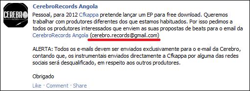 CFKappa EP 2012