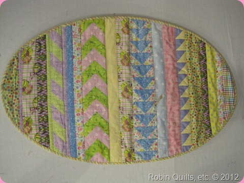 Easter Egg Quilt