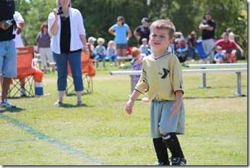 Jacks First Soccer Game 004